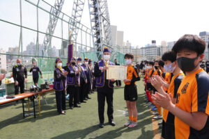 2021年新宿区少年サッカー大会決勝戦及び閉会式